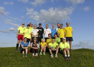 Training on Brean Down
